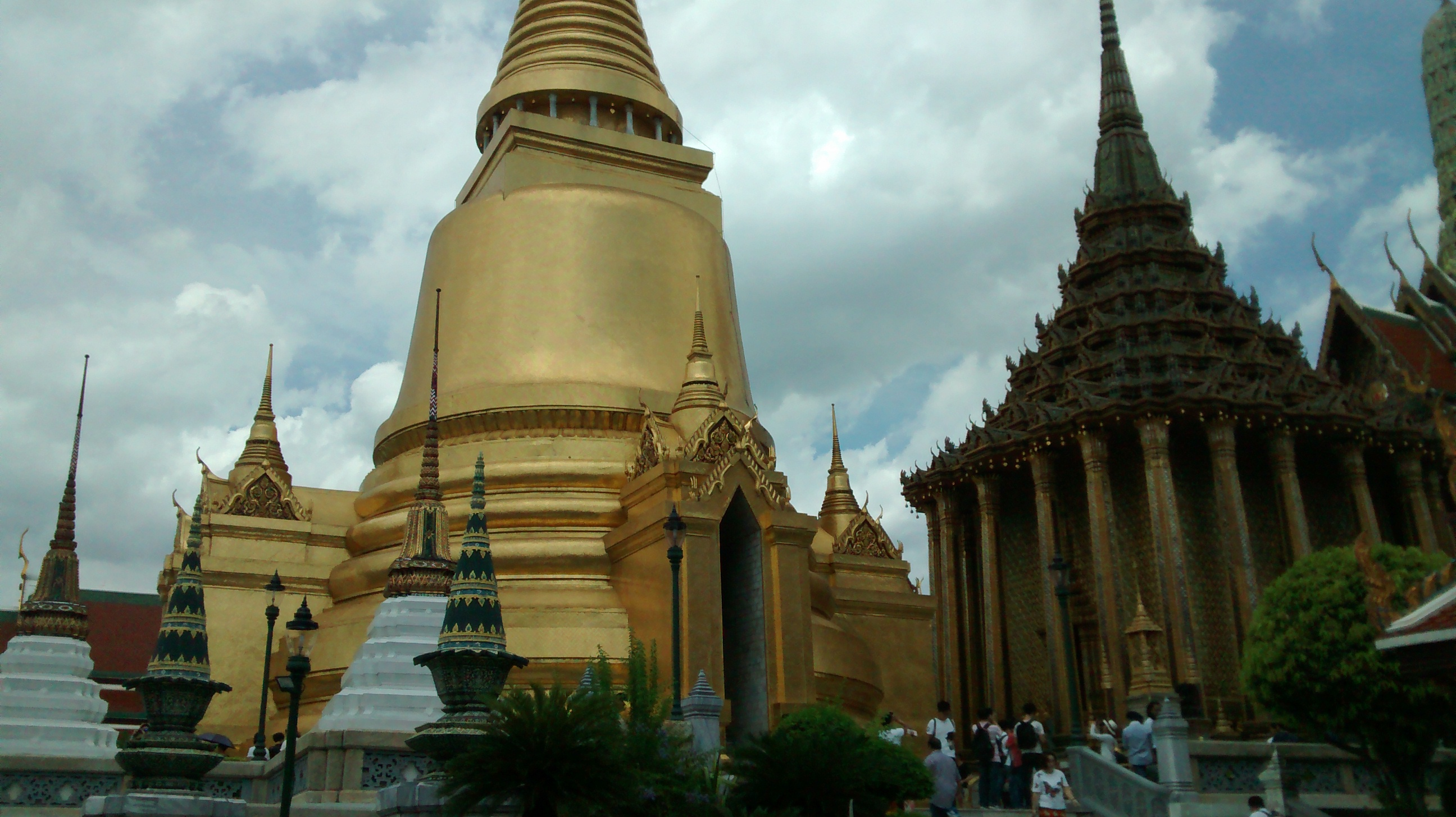 One of the nicer buildings in the Grand Palace