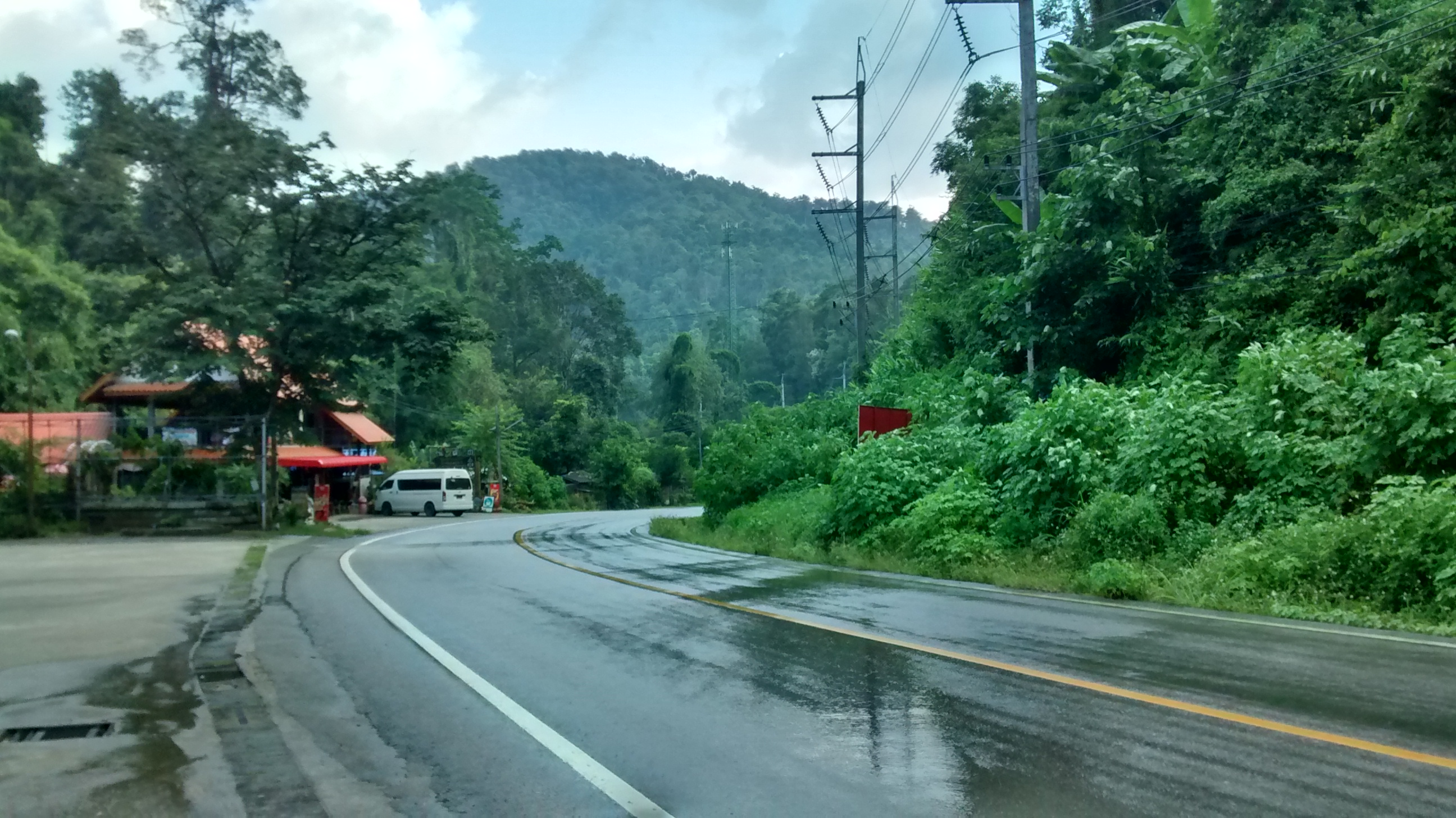 The road to Chiang Mai